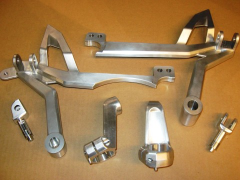 Precision Machined Motorcycle components