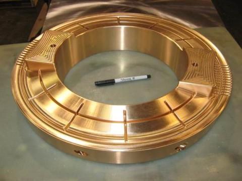 beryllium copper ring prototype