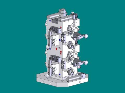 3d caliper bracket hmc workholding fixture